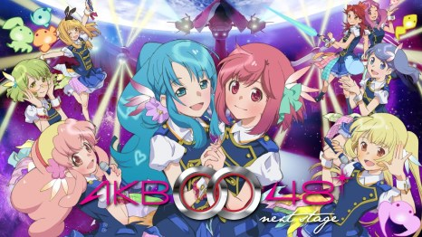 Girls from AKB0048.